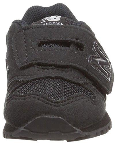 New Balance Unisex-Kinder Kv373abi M Sneakers Schwarz (Black)
