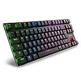 Sharkoon PureWriter RGB TKL Mechanische Low Profile-Tastatur  schwarz