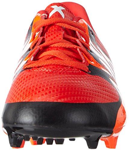 adidas Chaos FG/AG Unisex-Kinder Fußballschuhe Rot (Bold Orange/Ftwr White/Solar Orange)