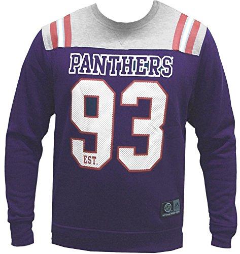 Majestic Florida Panthers Welles Crewneck Sweater Pullover Hoodie Herren Mens -