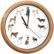 Uhr mit dackel