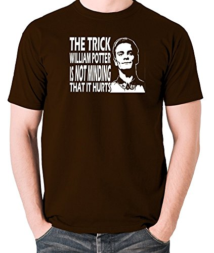 Prometheus - David, The Trick William Potter is Not Minding That it Hurts T Shirt