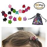 Kinder-Haarschmuck Mix-Farben-Blumen-Haarklemme-Baby-Hairpin (60 Stücke)