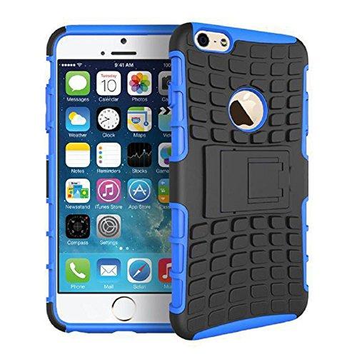 Motif de pneus téléphone coque de protection à manches Combo Armure Case de téléphone iPhone6 ??/ 6S avec support d'appui, Violet