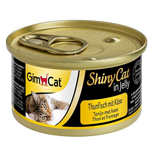 GimCat ShinyCat in Jelly - Comida gatos pescado gelatina
