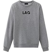 Lag Gaming Grunge Embroidered Sweatshirt