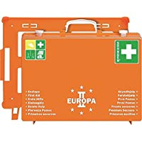 Erste Hilfe Koffer EUROPA II, 400 x 300 x 150 mm, orange preisvergleich bei billige-tabletten.eu