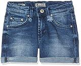 LTB Jeans Mädchen Shorts Milena G, Blau (Erlina Wash 51600), 134 (Herstellergröße: 9)