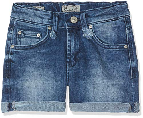 Ltb jeans milena g, pantaloncini bambina, blu (erlina wash 51600), 122 (taglia produttore: 7)