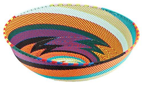 Maharanis Wire baskets Körbe aus Telefondraht handgewebt in Kwa Zulu Natal Südafrika 25 cm -