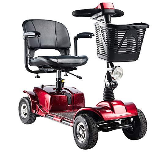 ACEDA Scooter Mobility | Scooter Minusválidos | Vehículo De Movilidad | Moto Minusválidos | Moto para Personas Mayores |4 Ruedas...