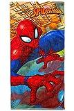 Marvel Spiderman serviette de plage/serviette de bain, Art. 0084, 70x 140cm, original sous licence