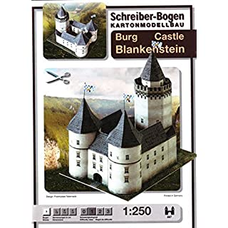 Aue-Verlag 19 x 14 x 19 cm Blankenstein Castle Model Kit