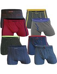 LOT DE 8 BOXERS HOMME RETRO Boxershorts coton , Taille M