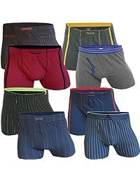 LOT DE 8 BOXERS HOMME RETRO Boxershorts coton , Taille XL