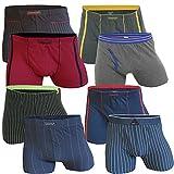 LOT DE 8 BOXERS HOMME RETRO Boxershorts coton , Taille ...