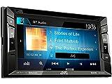 JVC Radio KWV240BT Auto 2DIN Bluetooth mit Einbauset für Mercedes C Klasse W204 S204 2007-2011 ohne Tasten