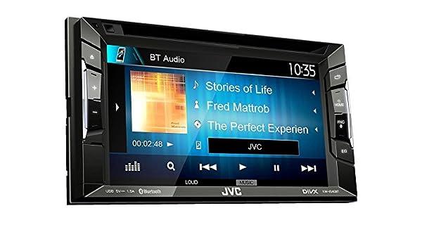 JVC Radio KWV240BT Auto 2DIN Bluetooth mit Einbauset: Amazon.de ...