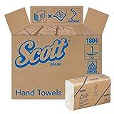 SCOTT* AIRFLEX* Multifold-Handtücher, 1804 – 250 weiße, 1-lagige Blätter pro Packung (VE mit 16 Packungen)