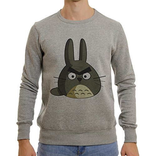 My Neighbor Totoro Anime Film Angry Bird Head XL Unisex Sweater