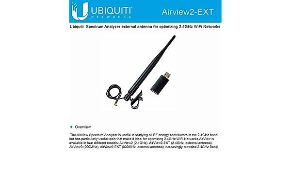 Ubiquiti USB 2 4GHz Spectrum Analyzer External Connector: Amazon co