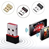 Storin™ Mini 2.4Ghz Wireless WiFi Dongle 500Mbps 802.11n USB Connector