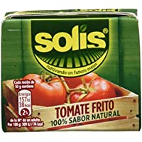 Solis Tomate Frito - Pack de 3 x 200 g - Total: 600 g