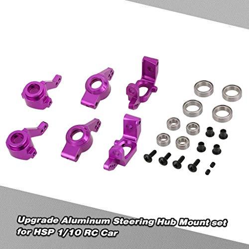 Preisvergleich Produktbild TianranRT Upgrade Aluminium Lenkung Nabe Halterung Satz 102010, 102011, 102012, 102068 für HSP 1 / 10 RC Auto