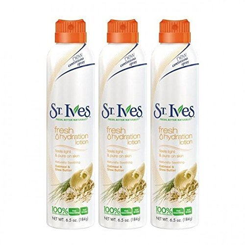 st-ives-fresh-hydration-lotion-oatmeal-shea-butter-net-wt-65-oz-184-g-each-pack-of-3-by-st-ives
