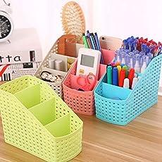 Shag Egab Multi-Purpose Desk Organizer Storage Box - Set 3