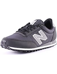 New Balance U 410 CC Womens Suede & Nylon Trainers Black - 39 EU
