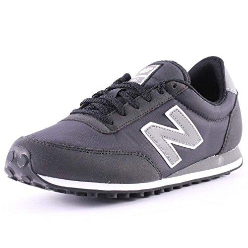 New Balance U410 D, Unisex-Erwachsene High-Top Sneaker Black