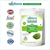 Wellona 100% Pure Organic Green Coffee Beans Powder Decaffeinated & Unroasted For Weight Management 200 Gm