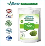 #8: Wellona 100% Pure Organic Green Coffee Beans Powder Decaffeinated and Unroasted Arabica AAA+++ for weight management, weight loss supplement 200 Gm