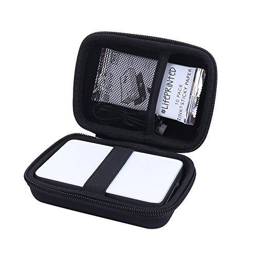 Étui Rigide Housse pour Canon Zoemini/Zoemini c/Zoemini s - Imprimante Photo Portable Von Aenllosi (Noir)