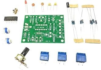 perfk ICL8038 Funktions Signal Generator Modul + 10k Widerstand +200Ω Widerstand + 2k Potentiometer + 20k Einstellbarer Widerstand