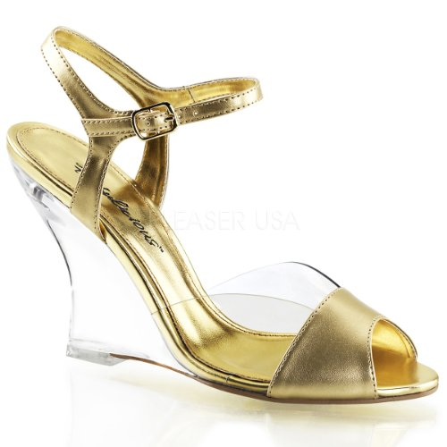 LOVELY-442 Clr-Gold Metallic Pu/Clr