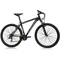 Monty KY17 - Bicicleta montaña Unisex de 21 velocidades, Cuadro de Aluminio Talla 19