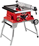 Einhell Table de sciage TE-TS 2025 UF (2000 W, 40 dents, Dimensions de la table 645x455 mm, Capot de protection de la lame, Piètement repliable, support d'accessoires)