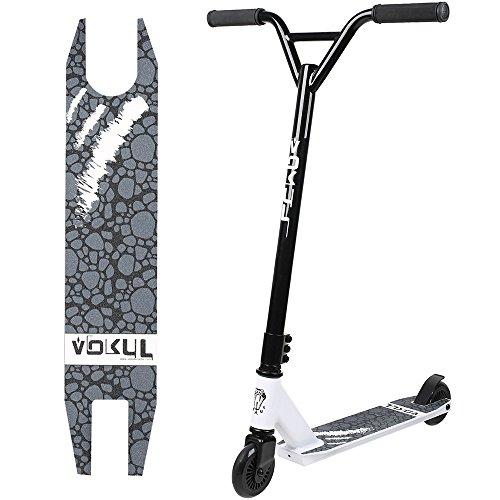 Vokul tg-6061 Pro Stunt Scooter Stunt – Patinete de aluminio ligero, Serio de adultos con alta calidad rueda de uretano