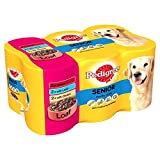 Pedigree können Senior Meat Loaf verzinnt Hundefutter 6x400g