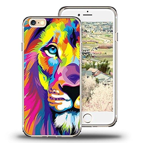 Fall für iPhone 6S viwell iPhone 6S/6(11,9cm) Fall 2015Persönlichkeit Abstrakt Cool Cartoon Wal, TAIG-3