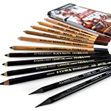 Crayons Rembrandt Art Specials Hi-Quality de Lyra-Lot de 12crayons assortis dans une boîte en métal - Référence:2001123