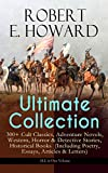 Best Robert E. Howard Books Horrors - ROBERT E. HOWARD Ultimate Collection – 300+ Cult Review
