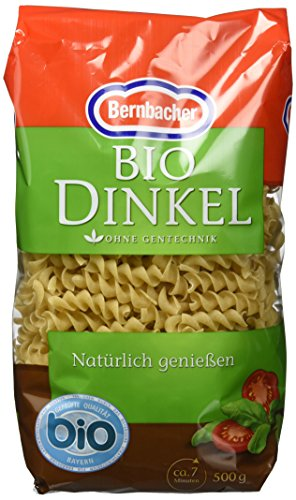 Bernbacher Bio Dinkel  - Große Spirale, 5er Pack (5 x 500 g)