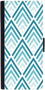 Snoogg Super Blue Designdesigner Protective Flip Case Cover For Sony Xperia Z...