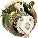 Resistencia variable - TOOGOO(R)25 W 10 Ohm Reostato resistencia variable de bobinada ceramica