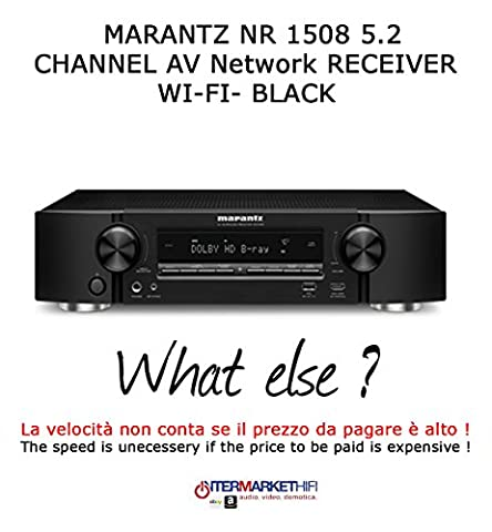 Marantz nr 15085.2Channel AV network Receiver–Wi-Fi–Black