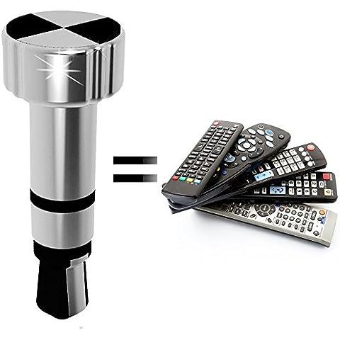 A Infrarossi Universale Intelligente Telecomando / Smartcontroller / per Apple iOS iPhone, iPad / TV, DVD, STB, Xbox ecc. ARGENTO