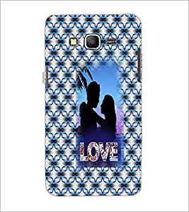 PrintDhaba Couple D-3550 Back Case Cover for SAMSUNG GALAXY GRAND PRIME (Multi-Coloured)